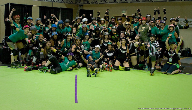Rollercon Derbalife v Herb-for-life Challenge bout 2012