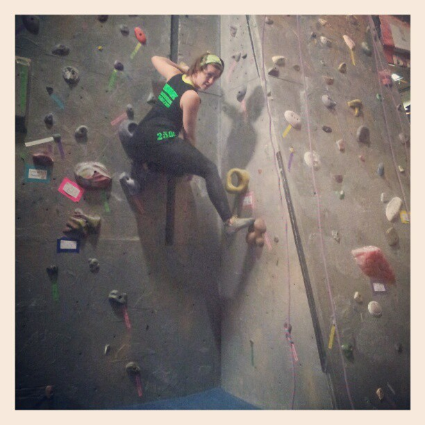 When I really need to focus, rock climbing is an awesome hobby