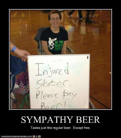 Sympathy beer