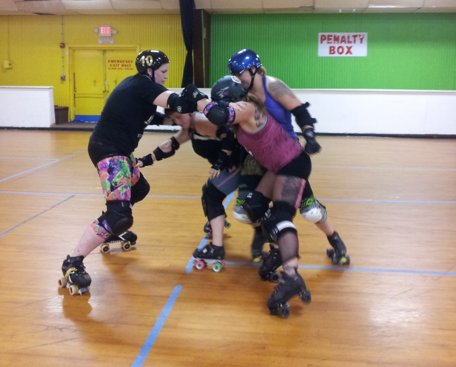Worcester Roller Derby are doing good stuff