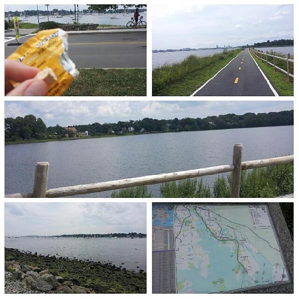A recap of 30 miles in Rhode Island!