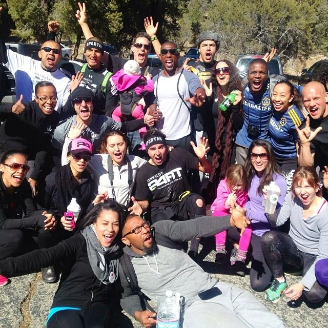 Our NEXT WAVE hiking group in Big Bear this weekend!