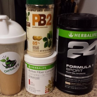One of my favorite shakes right now!