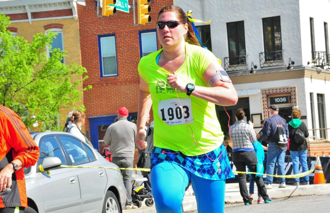 Charm City White Star RoadRunner knows that training for distance running takes more than just mileage.