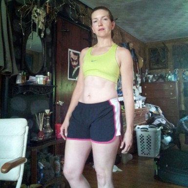 Was I proud of my 135# runner body? Yes! Could I survive a hit? NO.