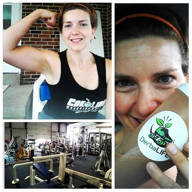 Strong, unafraid to have guns, eating healthy, lifting weights. Watch out WFTDA.