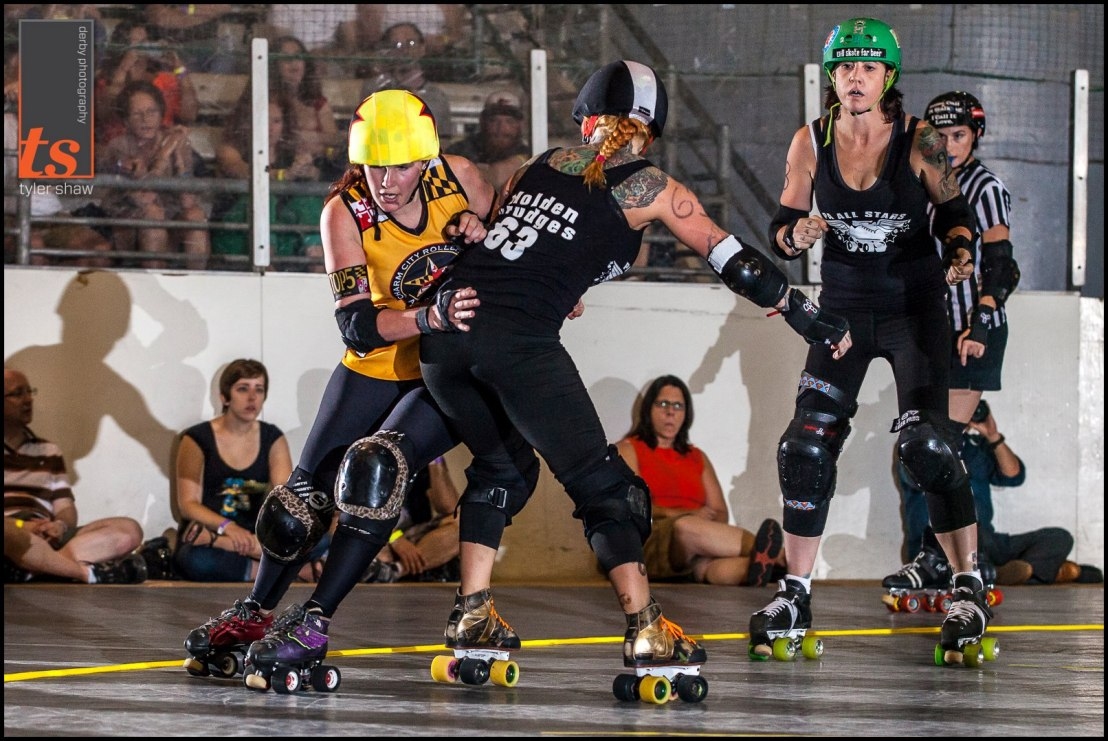 Susy Pow isn't concerned about blockers. Photo by Tyler Shaw
