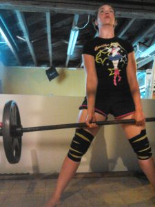Lifting. Yes. It's a thing I do to get better at derby. Deadlifts are awesome for all the things.