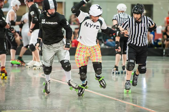 The slippery minx that is I A M Havoc at the Mohawk Valley Cup. Photo by Hispanic Attack.