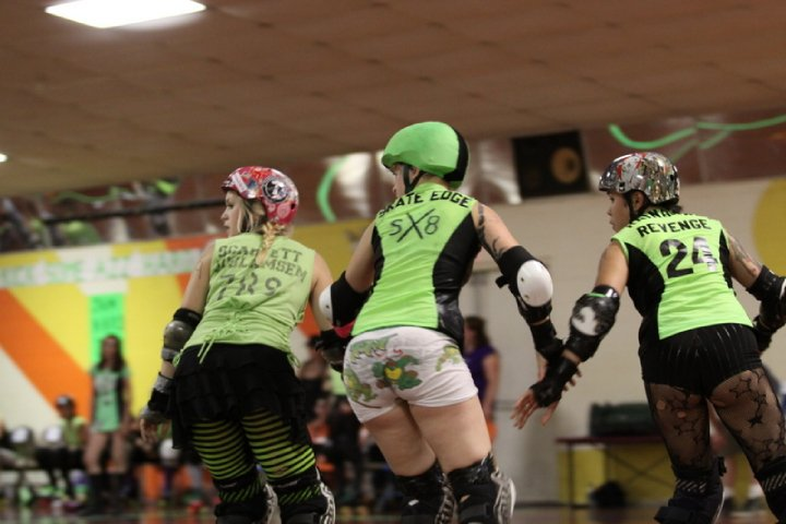 WFTDA Derby looked a little different in 2010.