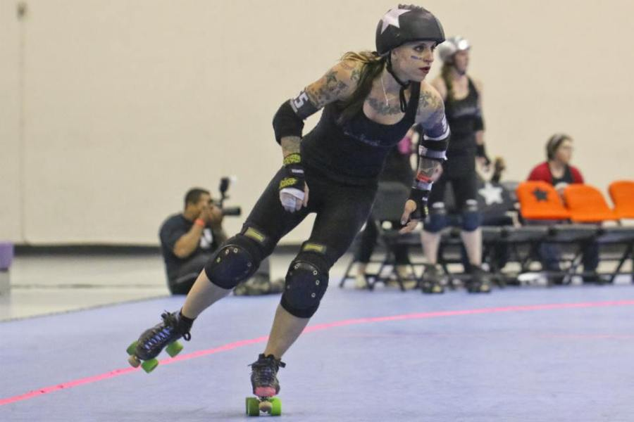 Suzy Hotrod is a modern legend of derby because of the hard work and dedication she has given to the sport on and off skates. Photo by David Dyte.