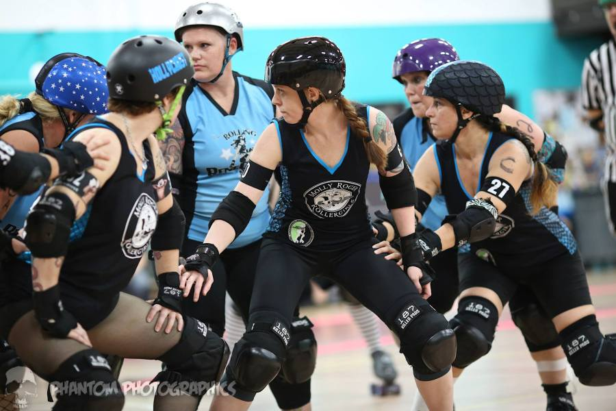 Molly Rogers Sarasota roller derby
