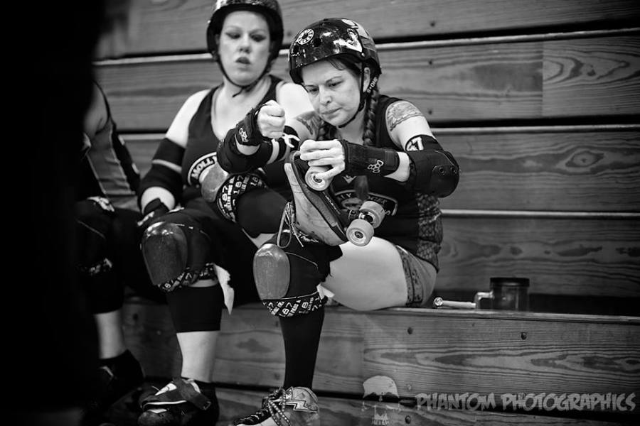 Snap Happy skate roller derby