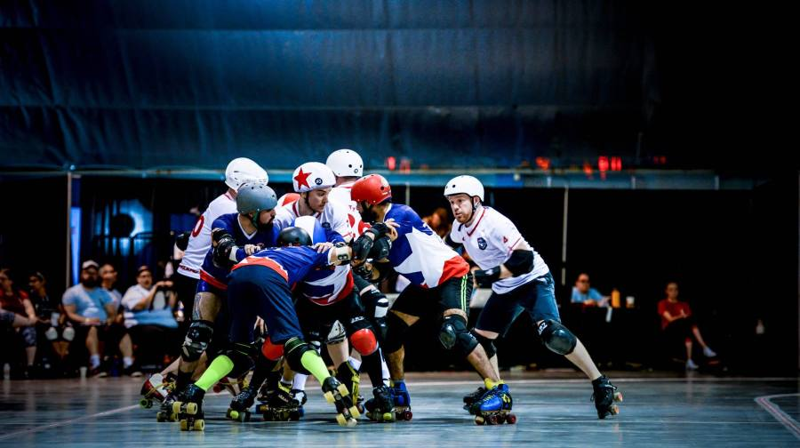 Team Chile Men's Roller Derby